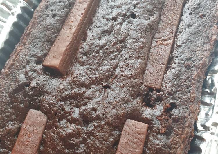 Resep Kitkat Brownies Gluten Free