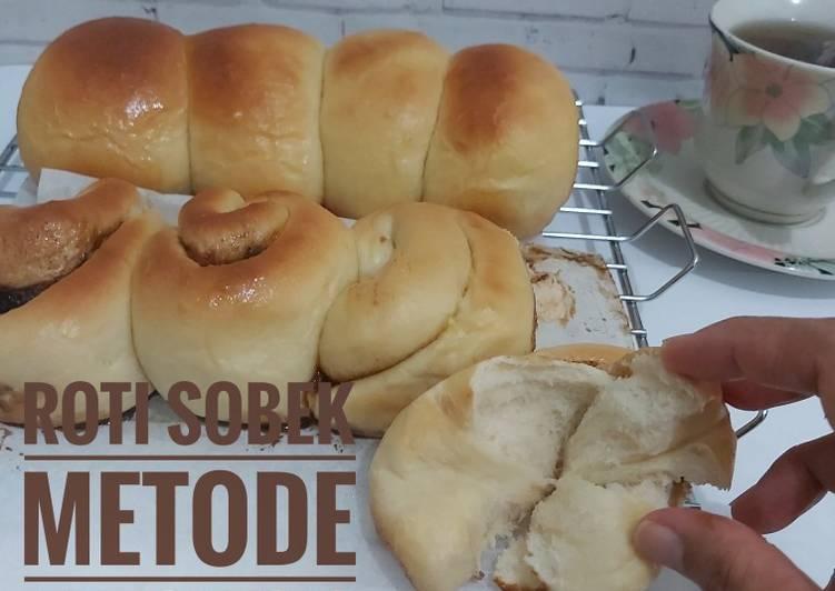 Resep Roti sobek (metode autolysis)