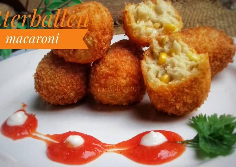 Resep Bitterballen macaroni ekonomis #pr_pasta