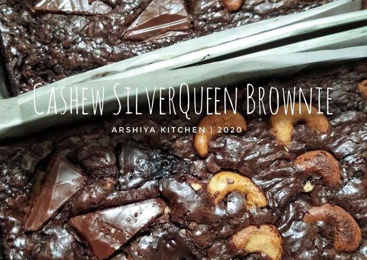 Resep Cashew Silverqueen Brownie