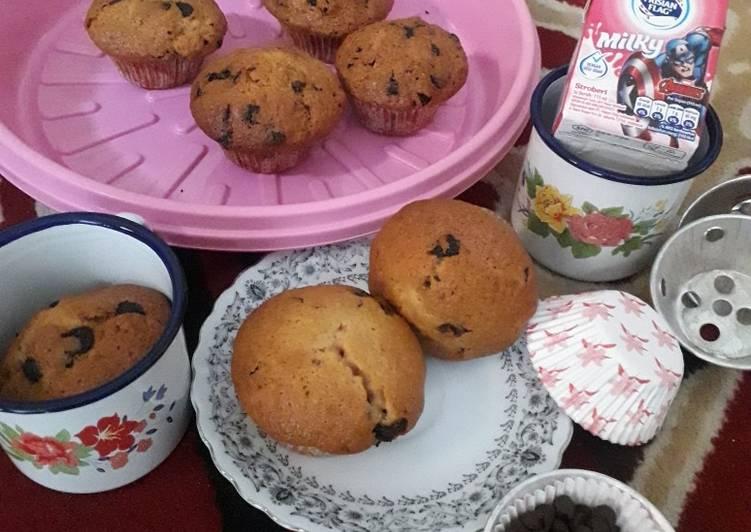 Resep Morning glory strawberry milk muffin ala tintin rayner