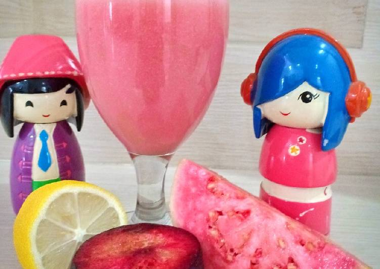 Resep Juice Guava and Friends