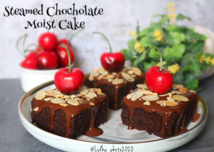Resep Steamed Chocholate Moist Cake
