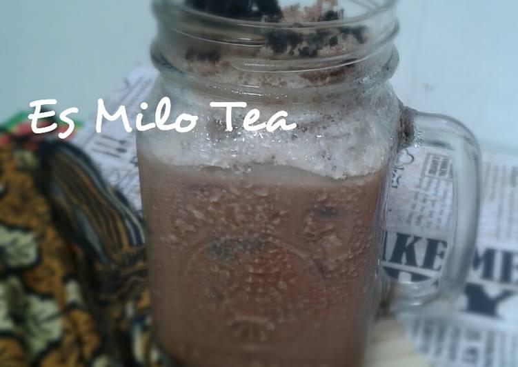 Resep Es Milo Tea