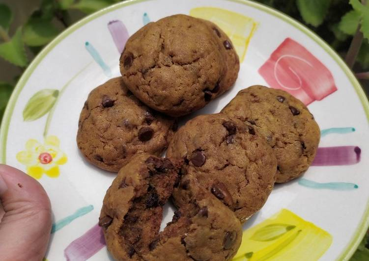 Resep Soft n chewy choco cookies