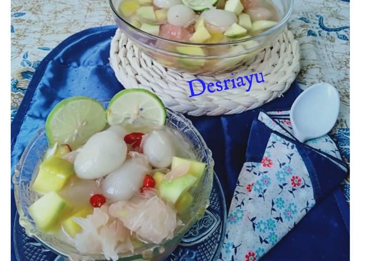 Resep Asinan Rambutan Mangga