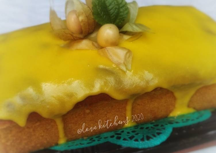 Resep Lemon pound cake