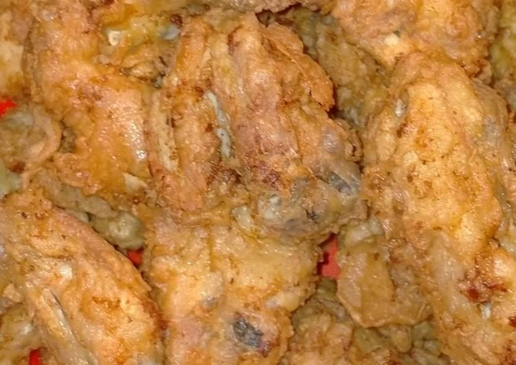 Resep Ayam goreng celup renyah