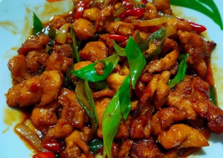 Resep Chicken Kungpau