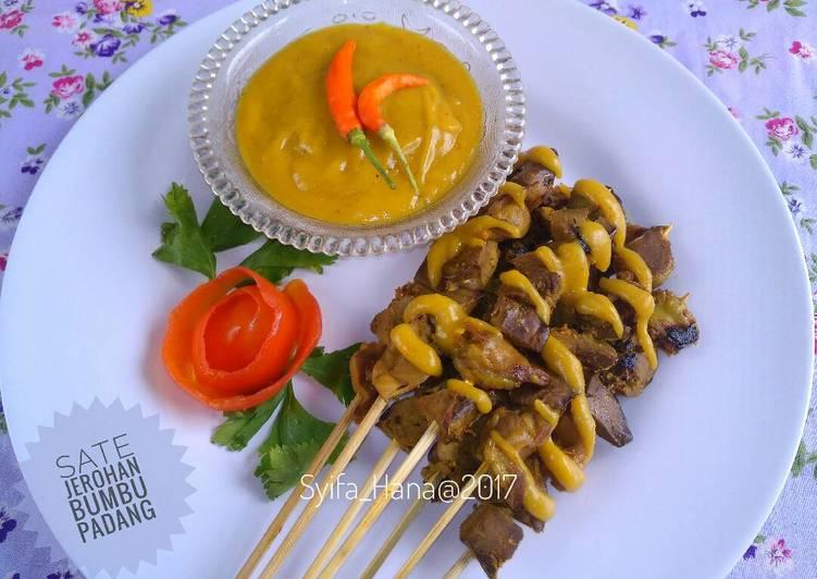 Resep Sate Jerohan Bumbu Padang