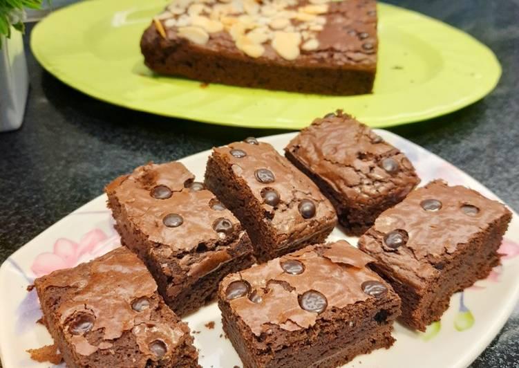 Resep Chewy Brownies ala Erlina Liem