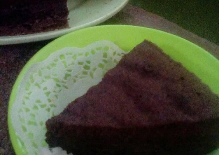 Resep Brownies Ketan Hitam #PR_BrowniesDCC