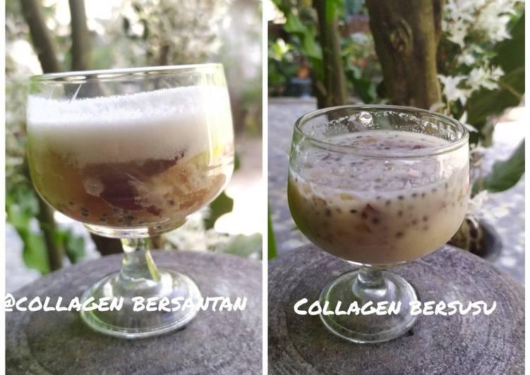 Resep Collagen bersusu/bersantan