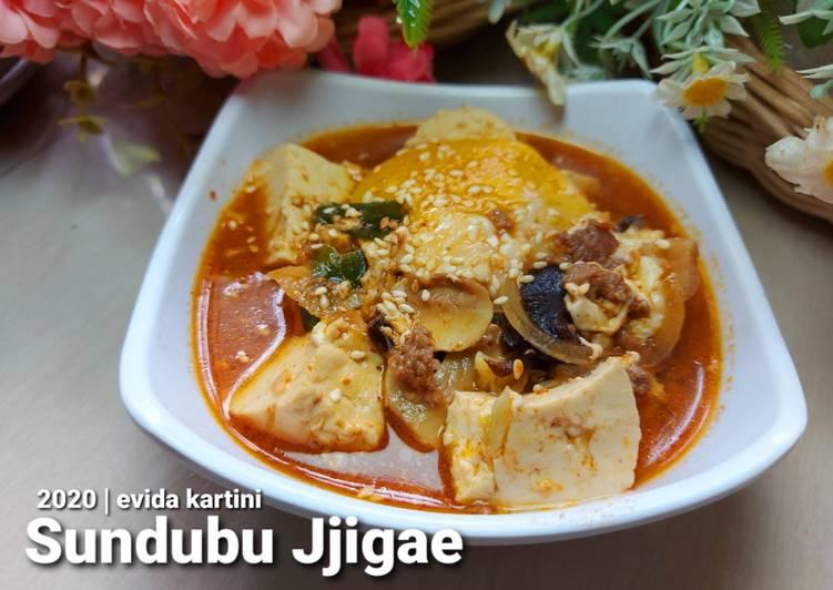 Resep Sundubu Jjigae