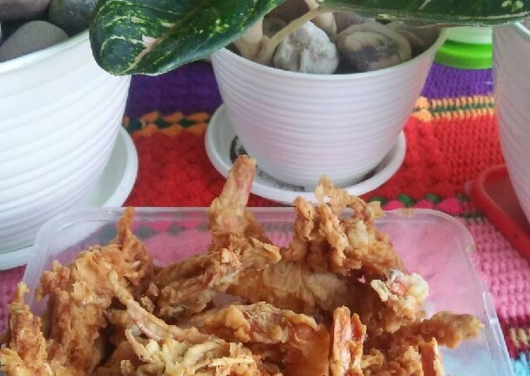 Resep Udang tepung simple tapi enak