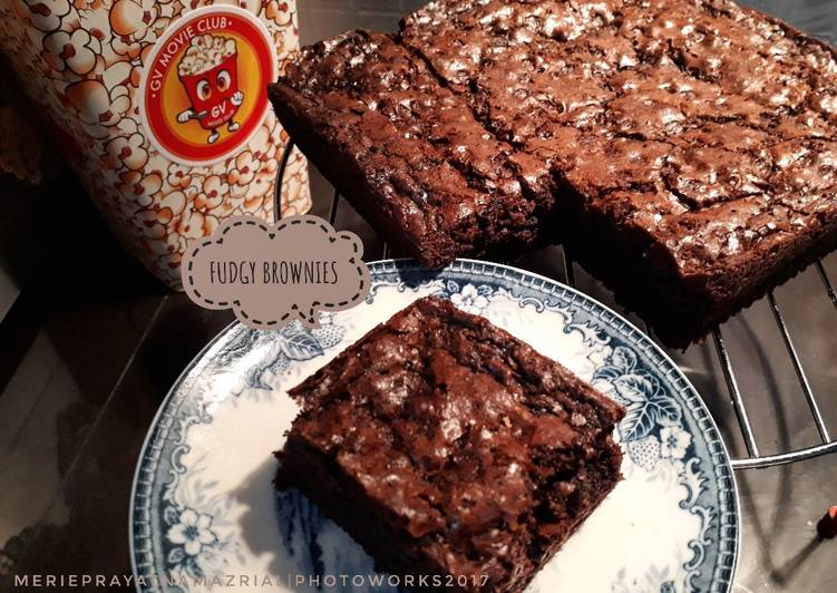Resep Fudgy Brownies