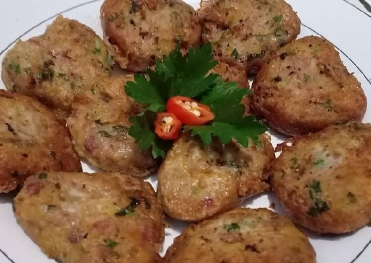 Resep Perkedel kentang kornet cinta