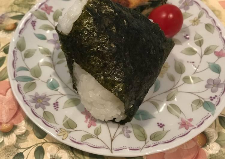 Resep Teknik membuat simple onigiri