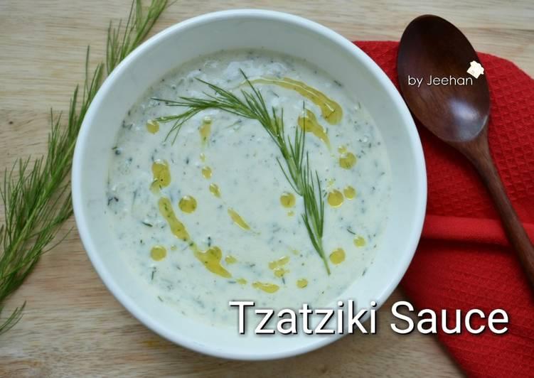 Resep Tzatziki Sauce