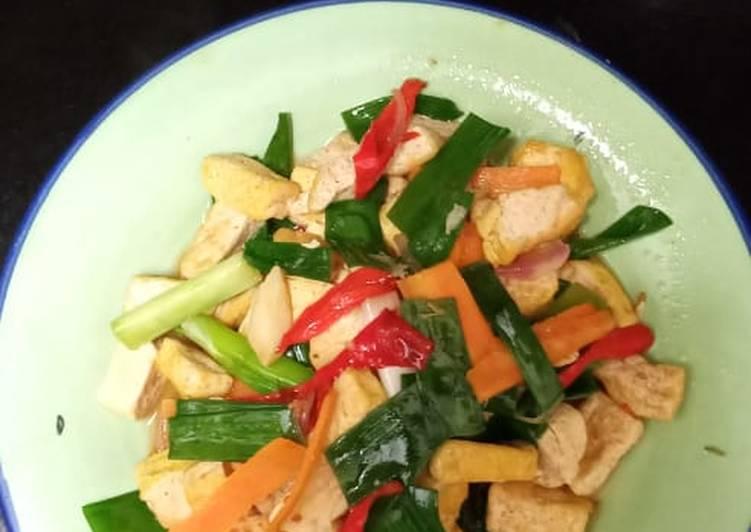 Resep Oseng Sayur Warna Warni