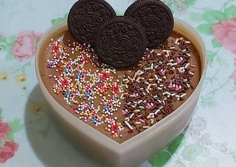 Resep Ice Cream Chocolate Homemade