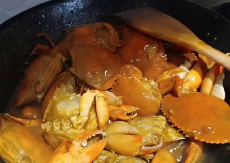 Resep Kepiting Pedas Saos Tiram