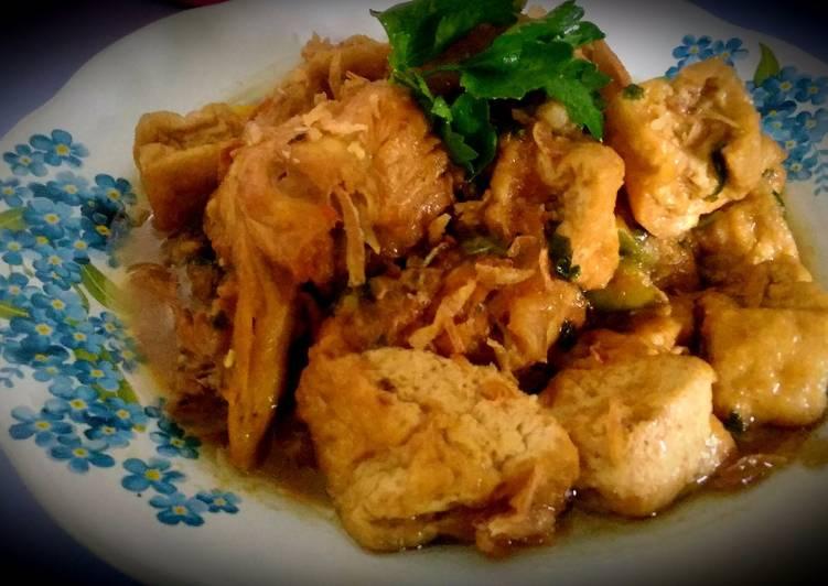 Resep Semur Ayam Tahu