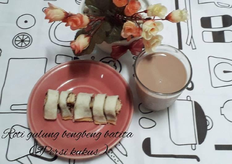 Resep Roti gulung bengbeng batita(persi kukus)