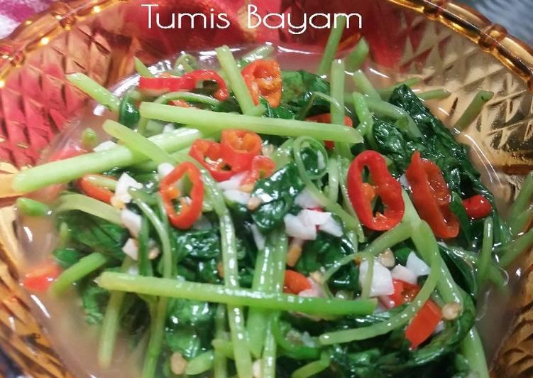 Resep Tumis Bayam