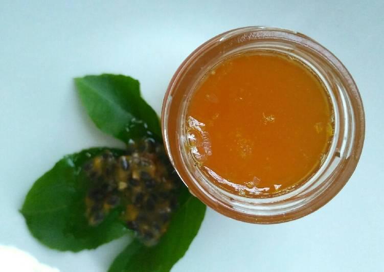 Resep Syrup Markisa Homemade