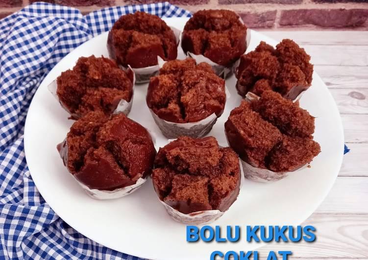 Resep Bolu Kukus Coklat (Egless no Mixer)