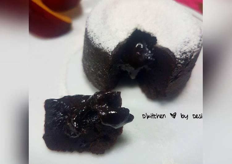 Resep Choco lava