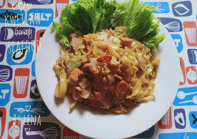 Resep Kwetiaw Goreng Seafood
