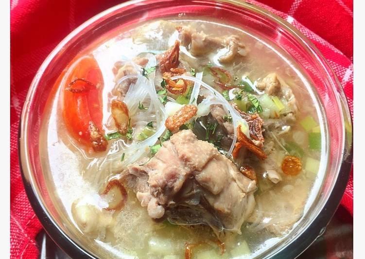 Resep Soto Tulangan Ayam