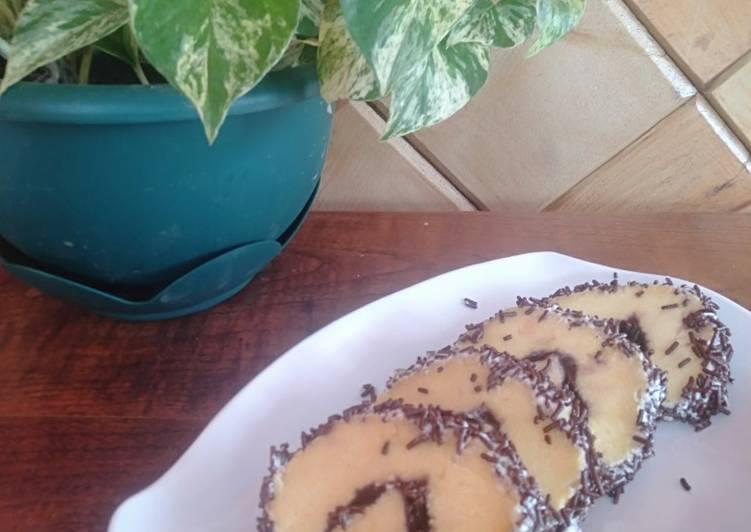 Resep Bolu gulung with mesis