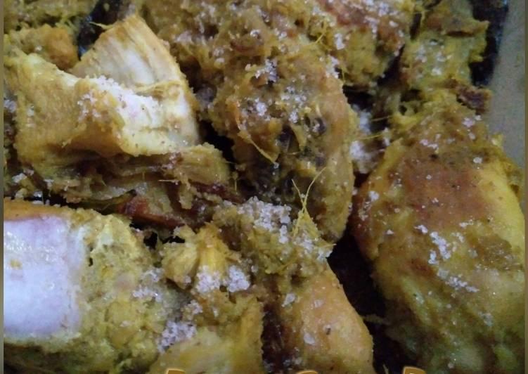Resep Ayam Bumbu Lengkuas