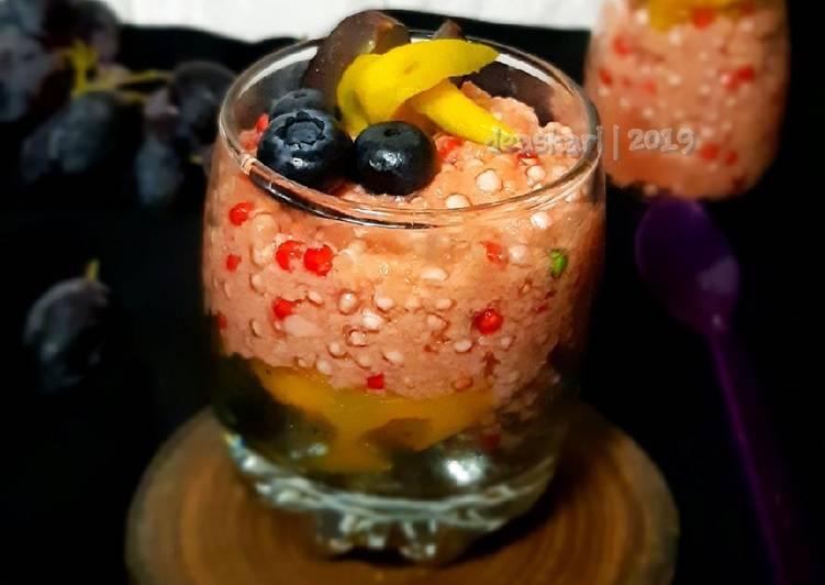 Resep Tapioca Pudding / Puding Tapioka