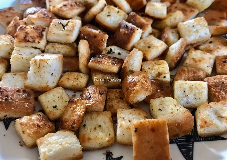 Resep Croutons