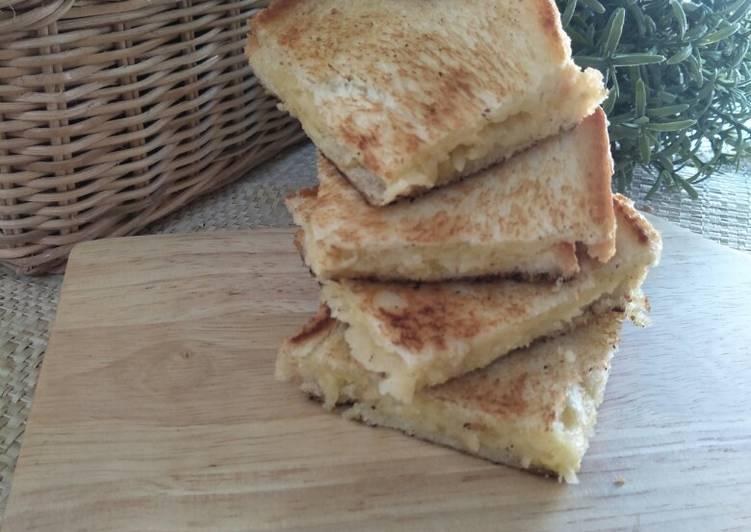 Resep Roti Panggang Keju
