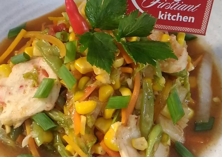 Resep Tumis Jagung Sayuran GPL (Diet Enak Diabetes) #indonesiamemasak #jagung