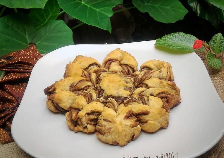 Resep Roti nutella pisang kepok