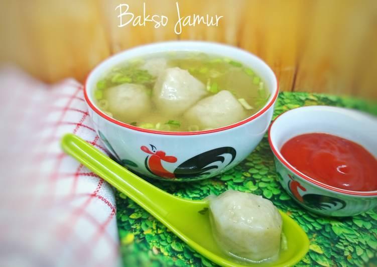 Resep Bakso Jamur Tiram