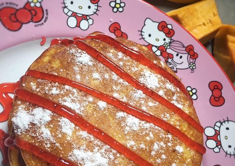 Resep Kabocha (Pancake Labu Kuning)