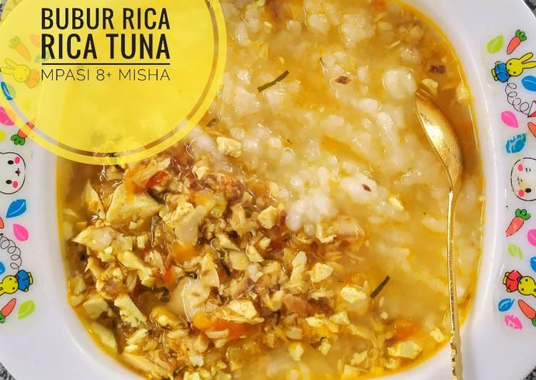 Resep Bubur Rica Rica Tuna (MPASI 8+)