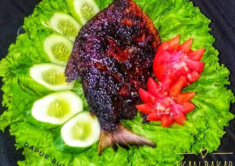 Resep Ikan bakar pedas manis (teflon)