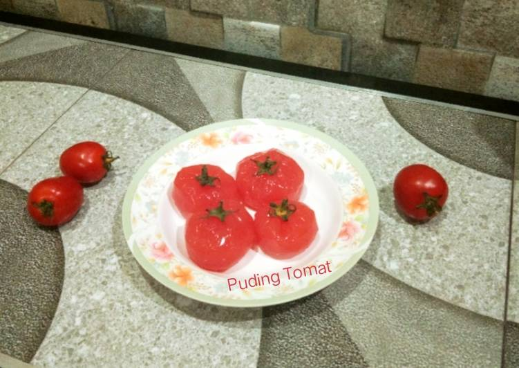 Resep Puding Tomat..