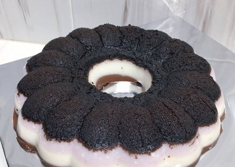 Resep Puding Oreo