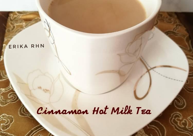 Resep Cinnamon Hot Milk Tea
