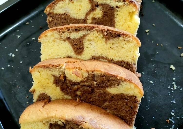 Resep Marmer Cake Fluffy