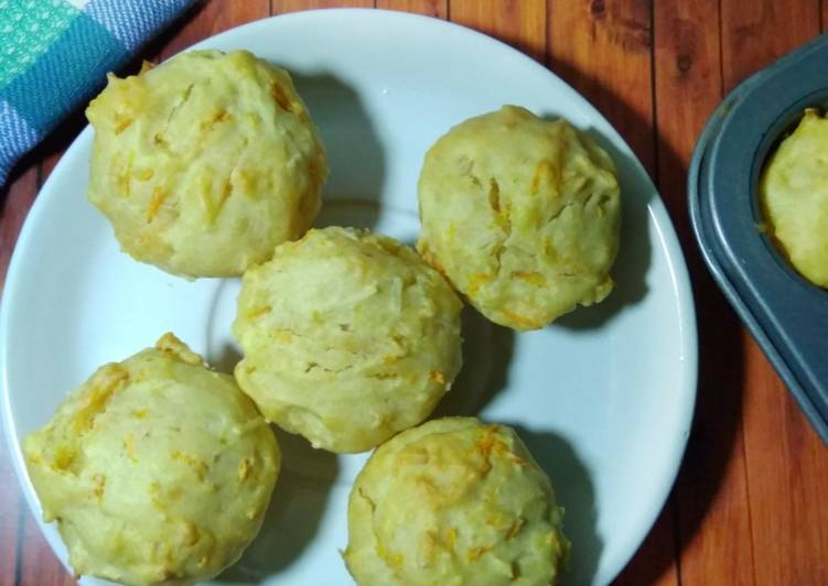 Resep Muffin wortel keju